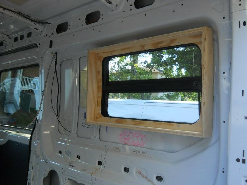 Ford Transit Ladder Rack >> Transit van windows