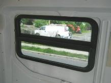 Transit Van Windows
